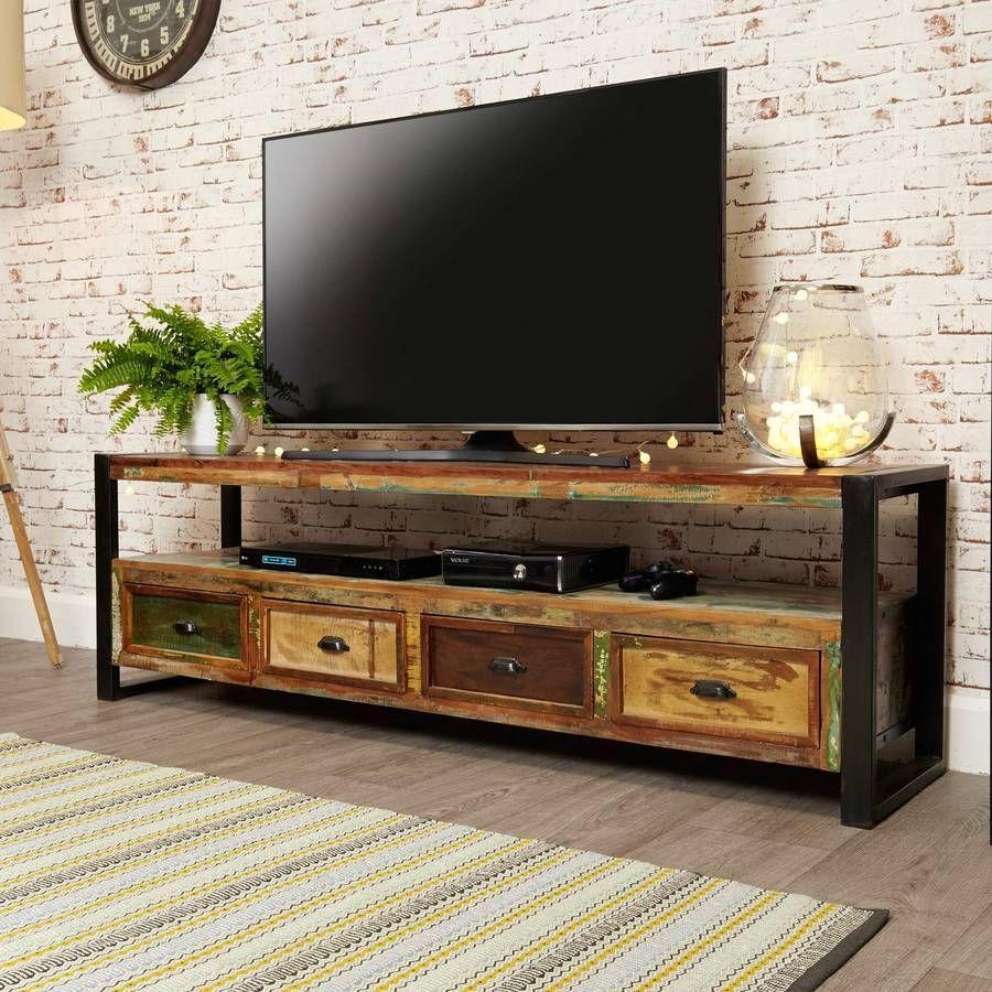 Tv Möbel Industrie Look