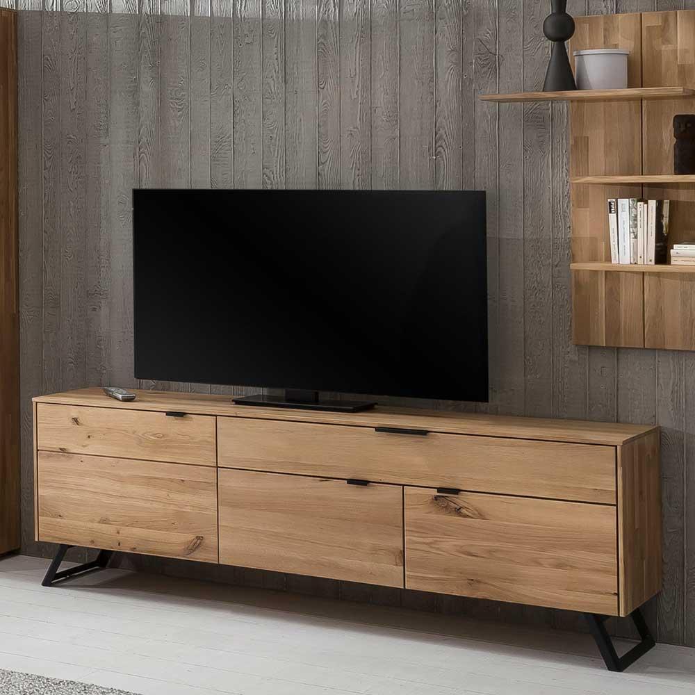 Tv Möbel Wildeiche