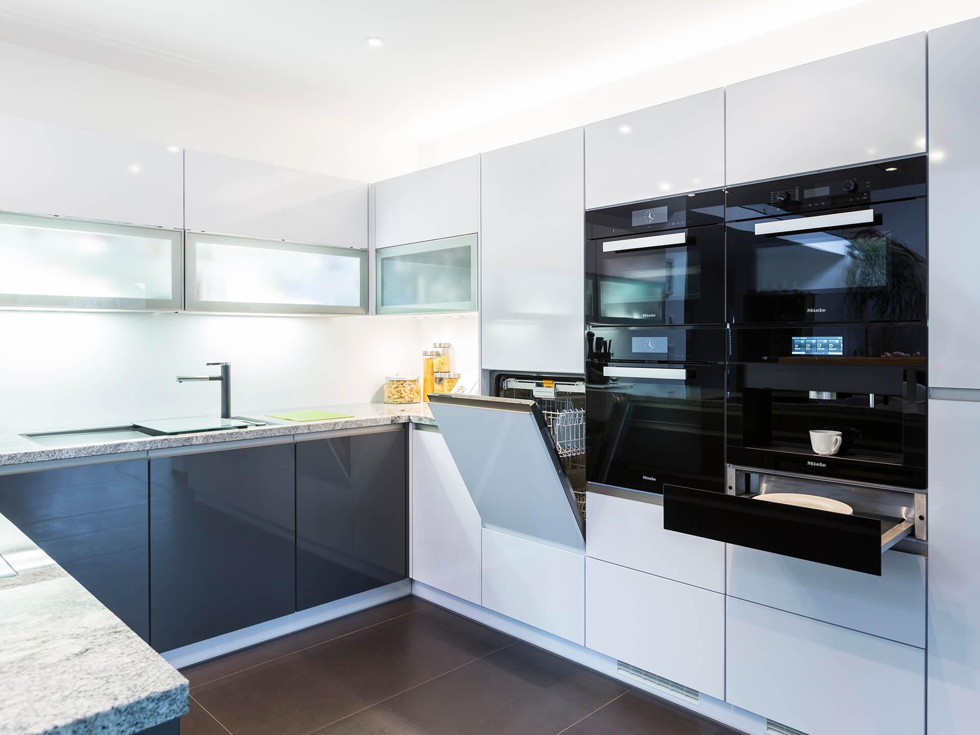 U Küche Mit Geräten