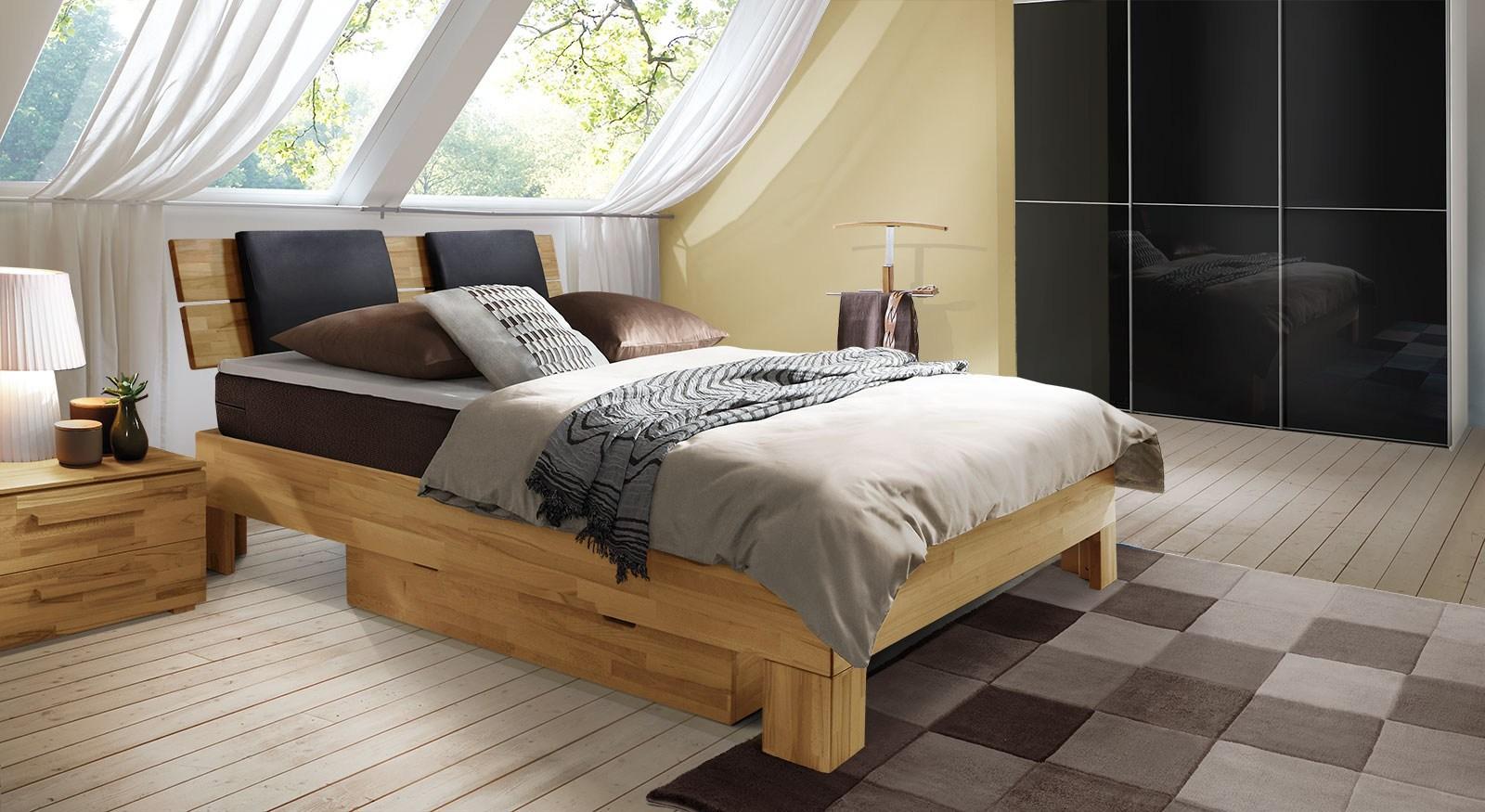 überbau Schlafzimmer Mit Boxspringbett
