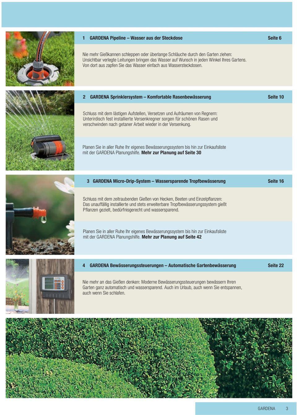 Unterirdisch Bewässerungssystem Gardena