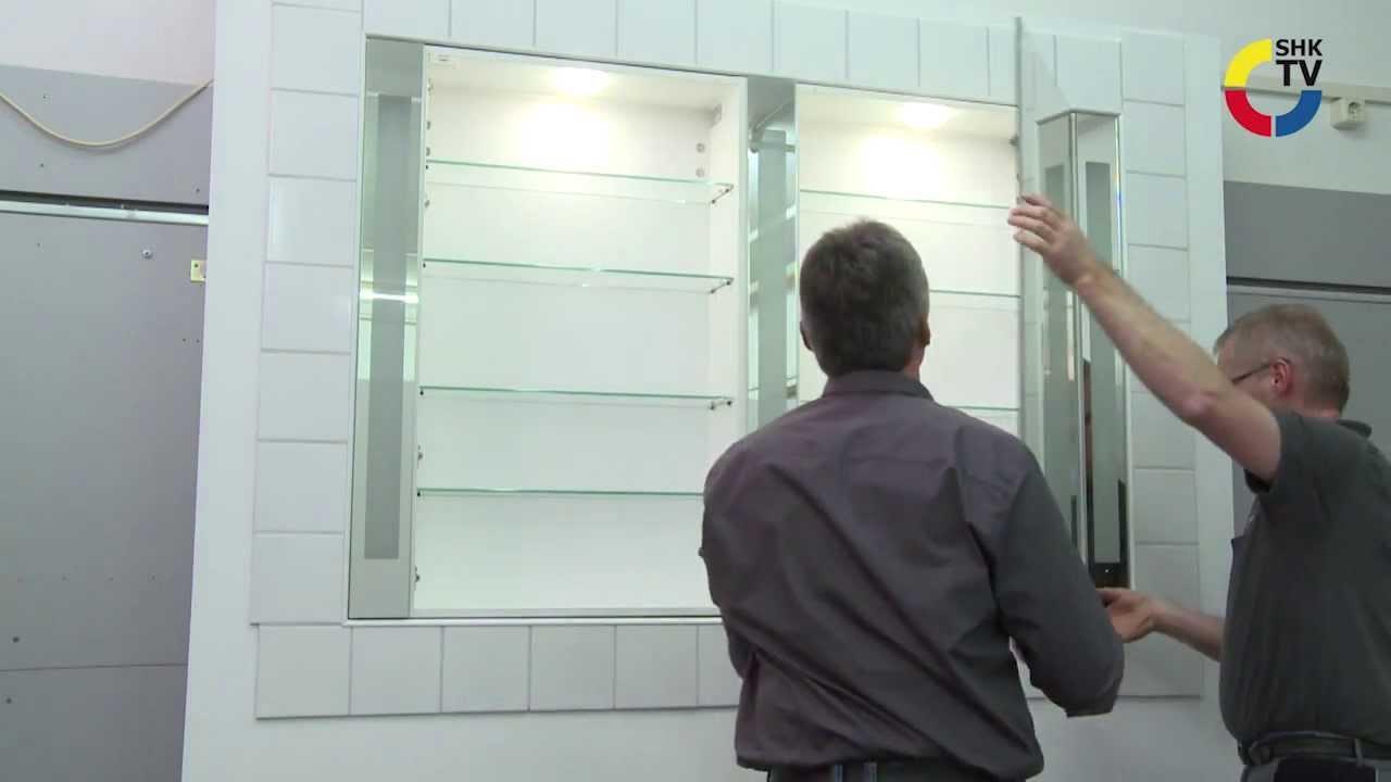 Unterputz Spiegelschrank Bad