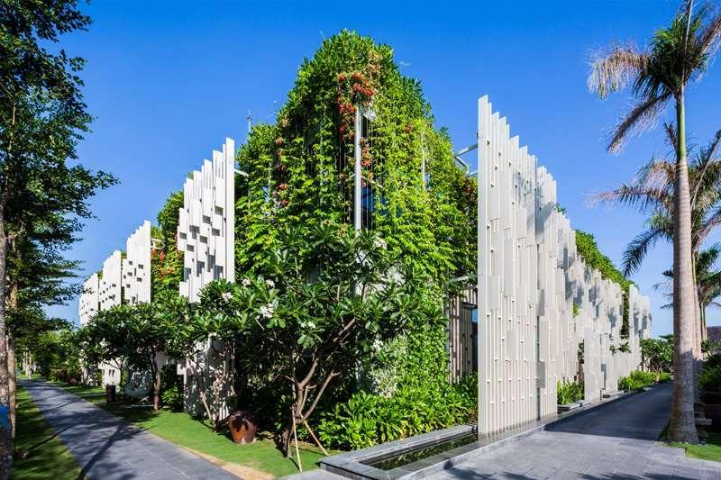 Vertikaler Garten Sichtschutz