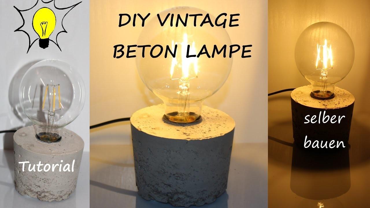 Vintage Deckenlampe Selber Bauen