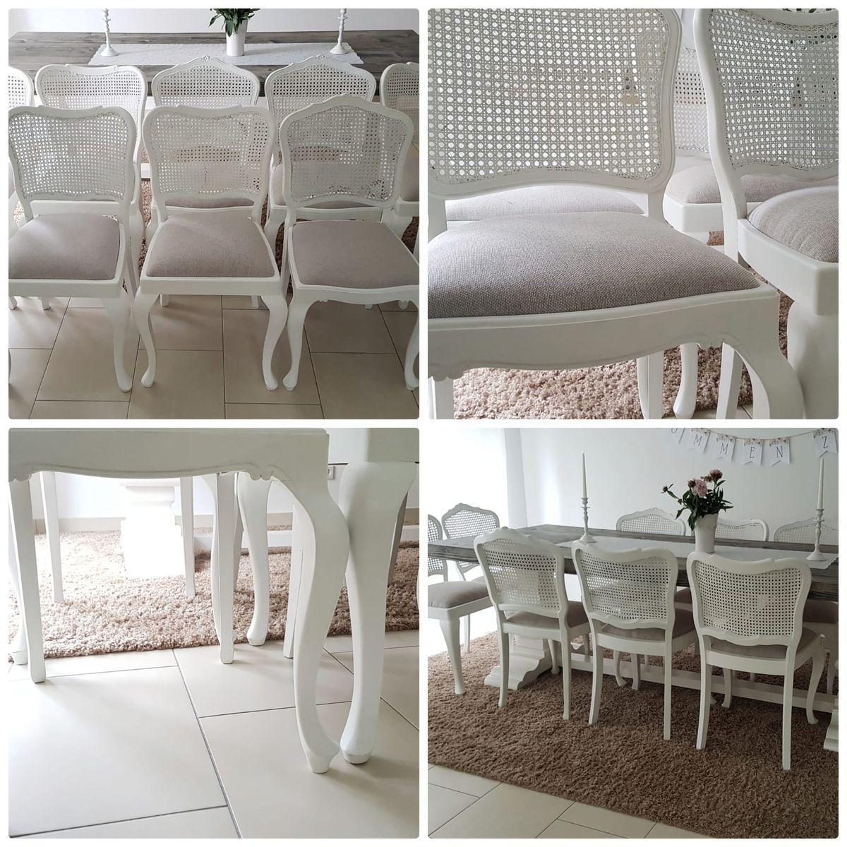 Vintage Stühle Weiß