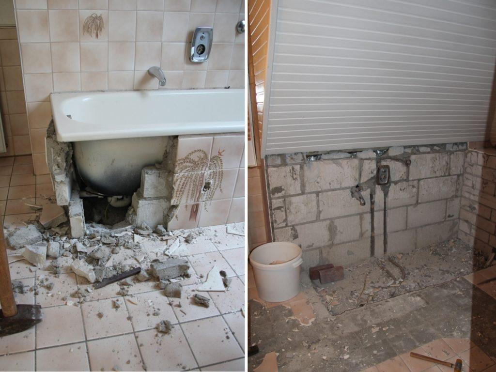 Vorher Nachher Kleines Bad Sanieren