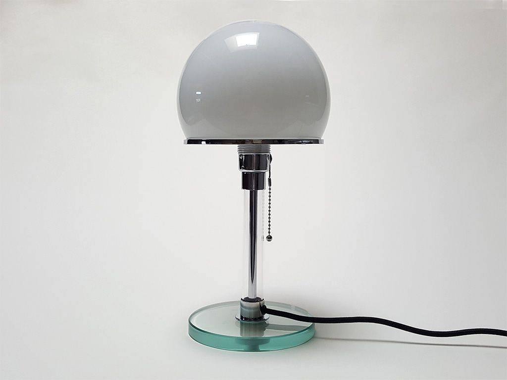 Wagenfeld Lampe Bauhaus