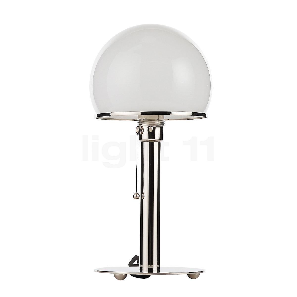 Wagenfeld Lampe Zugschnur Wechseln