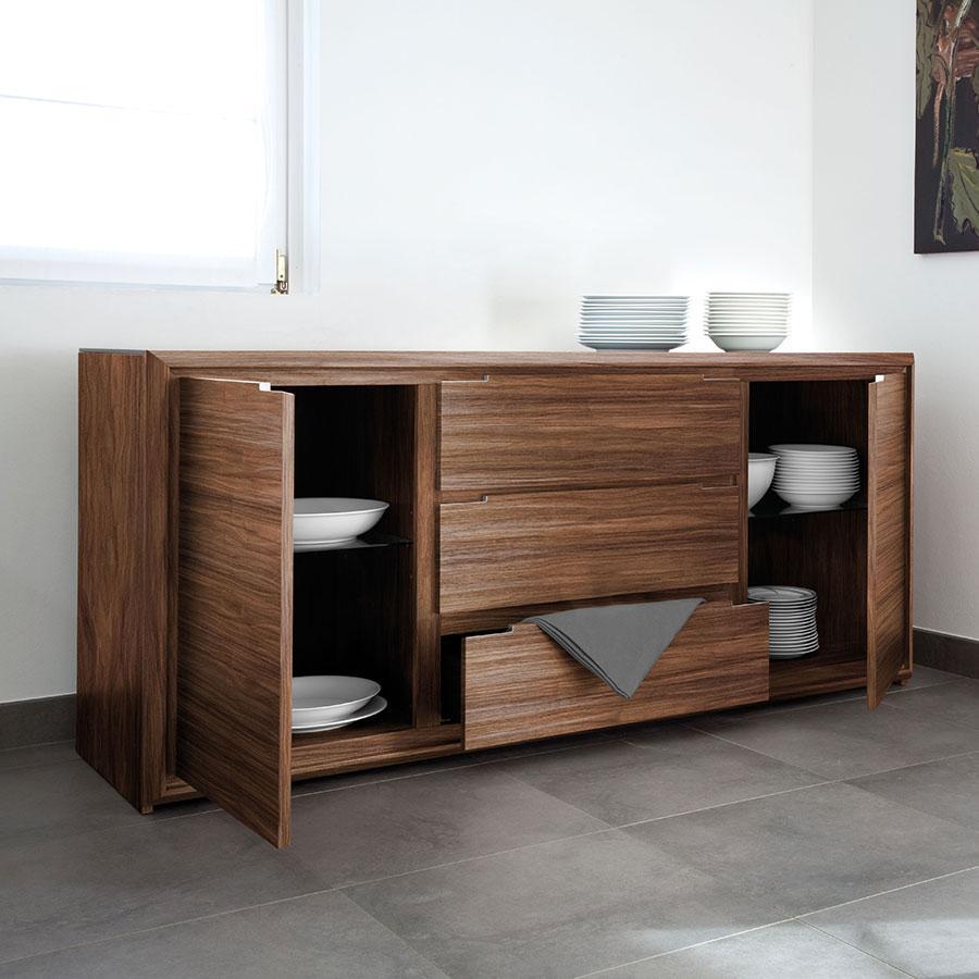 Walnut Sideboard Modern