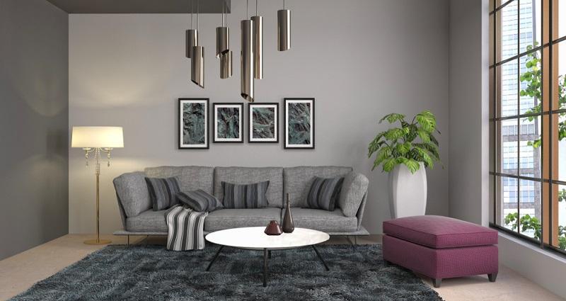 Wand Farbideen Wohnzimmer