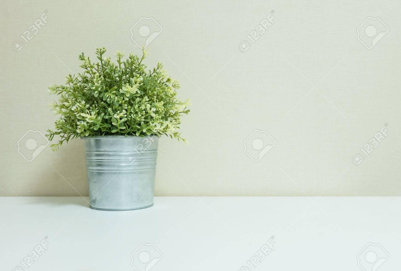 Wand Pflanzen Deko