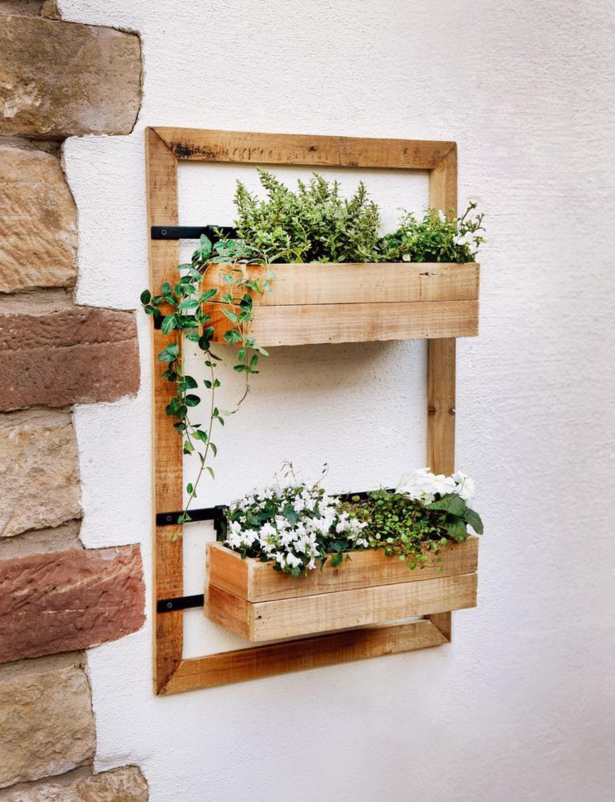 Wand Pflanzen Regal
