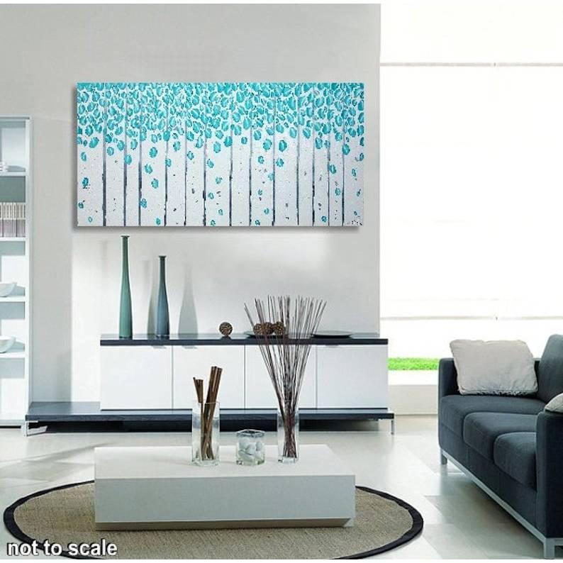 Wandbild Wohnzimmer Grau