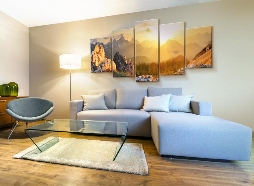 Wandbilder Wohnzimmer 3d