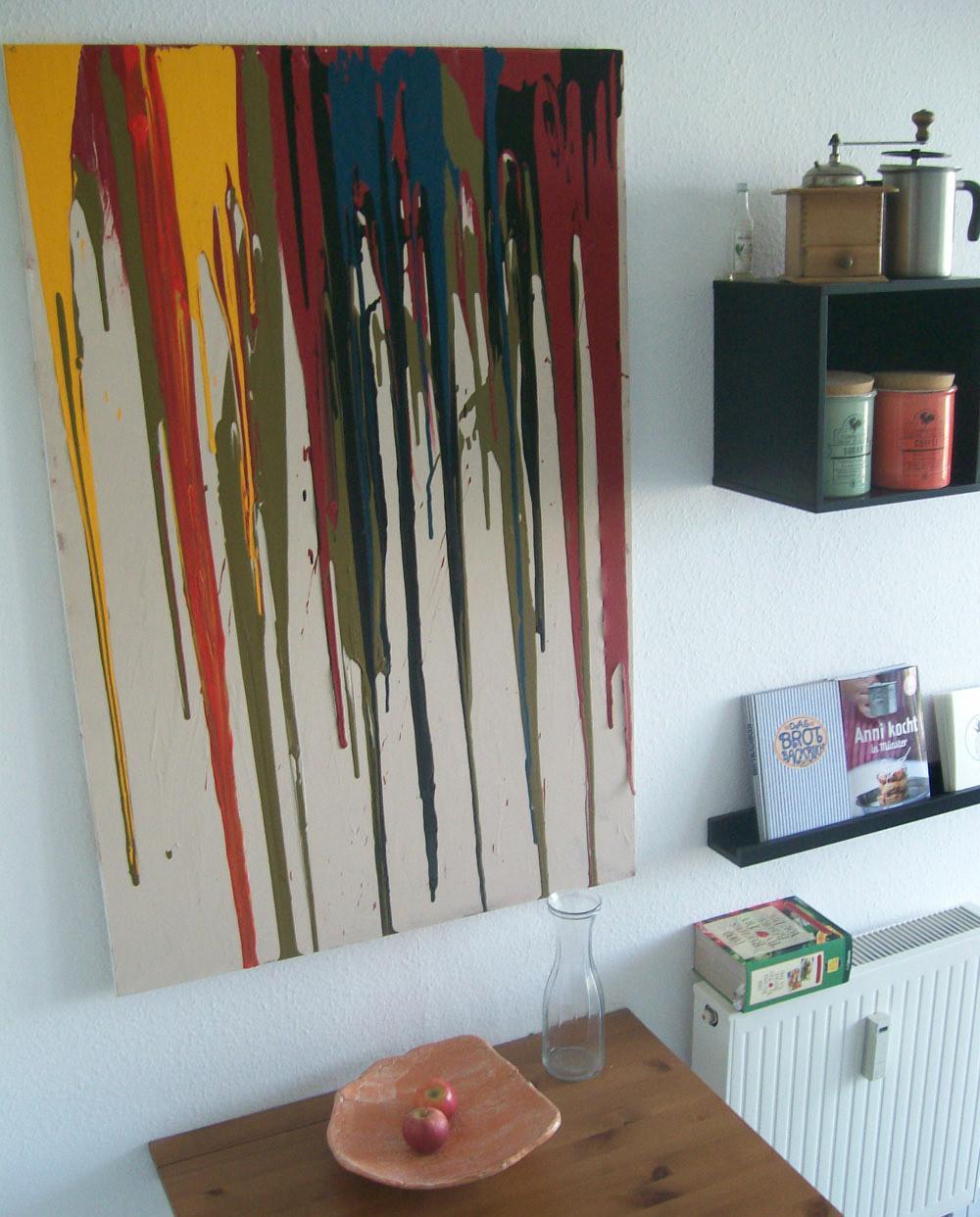 Wanddekoration Wohnzimmer Deko Selber Machen