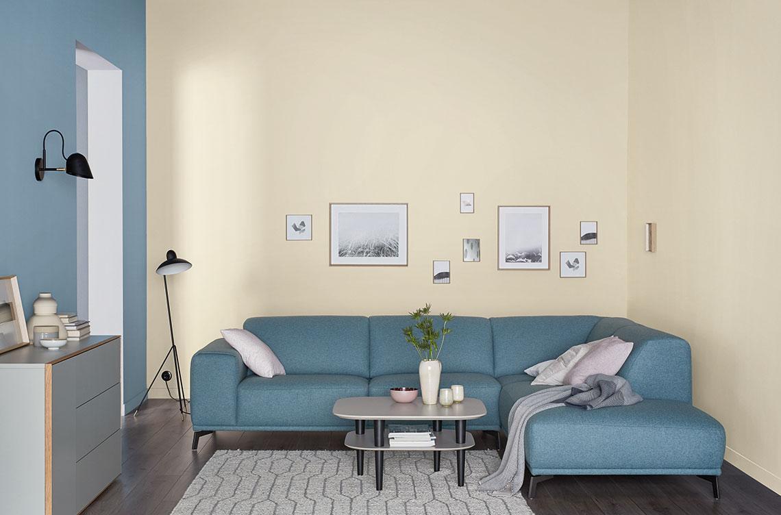 Wandfarbe Wohnzimmer Grau Beige