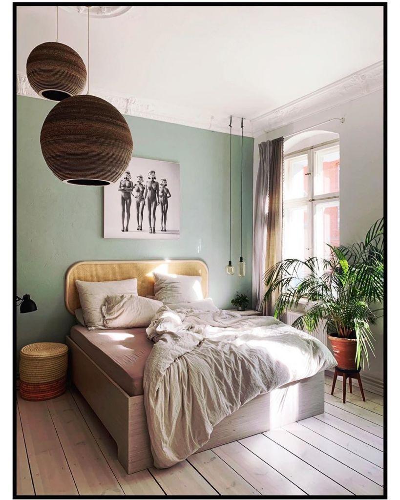 Wandfarbe Wohnzimmer Grün Grau