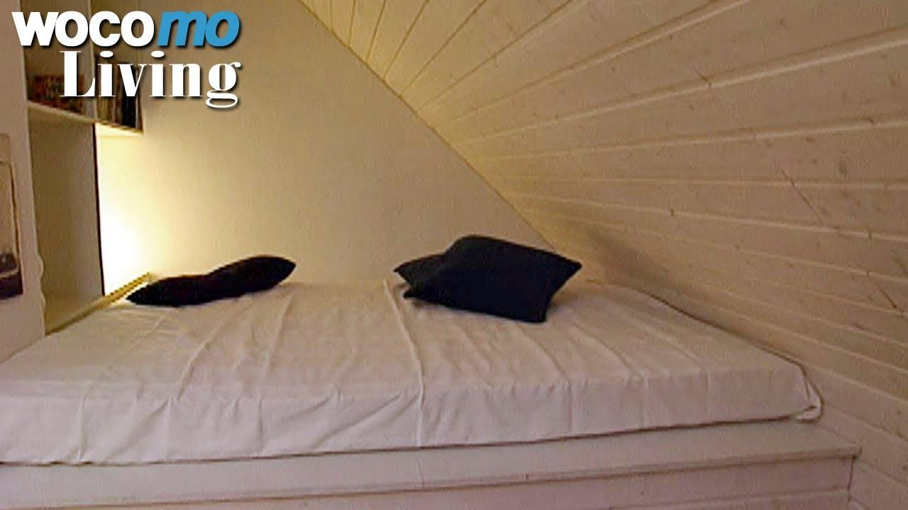 Wandgestaltung Ideen Für Kleine Schlafzimmer Mit Dachschräge