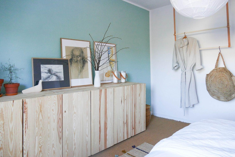 Wandgestaltung Schlafzimmer Holz