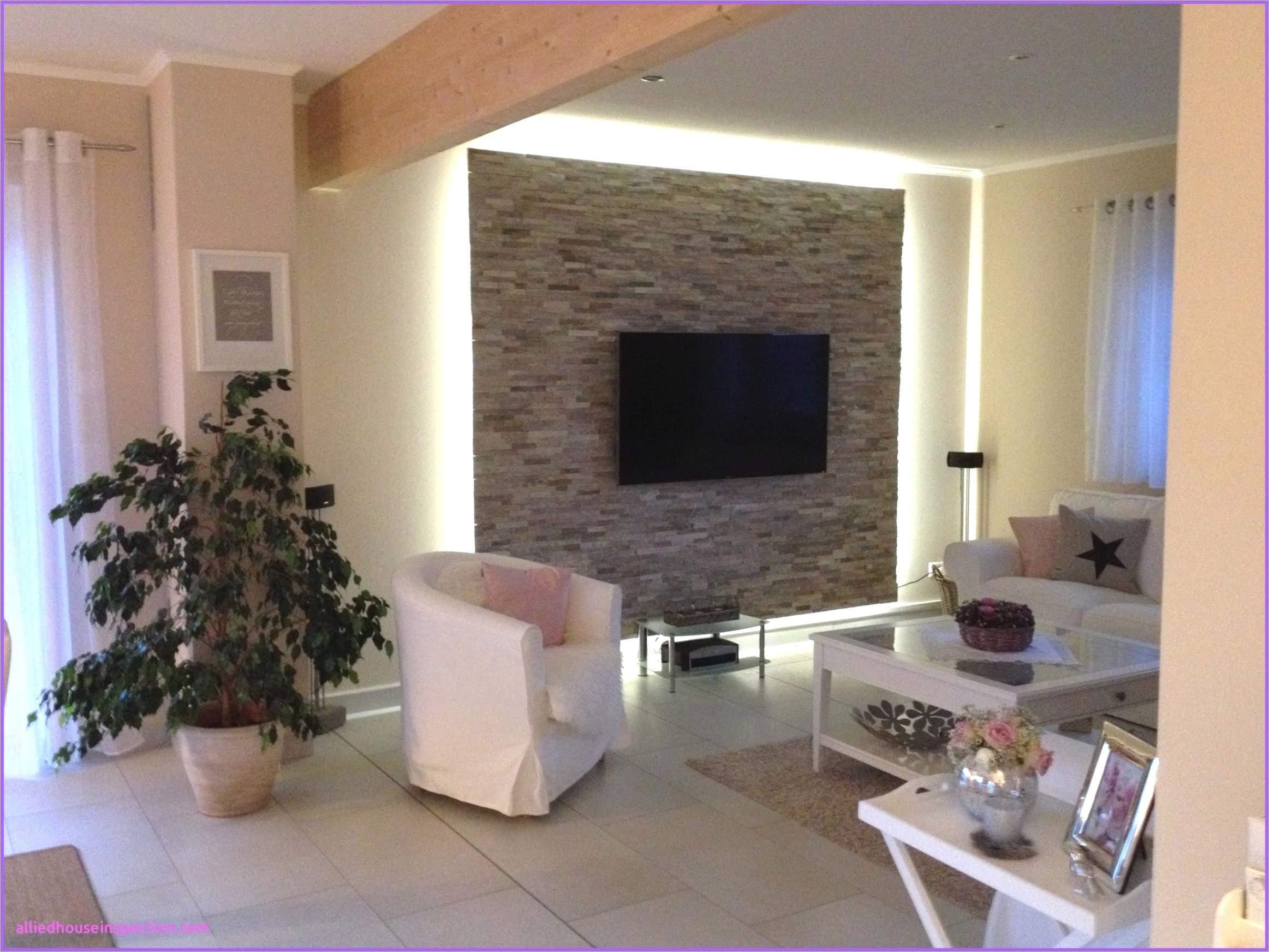 Wandgestaltung Tapeten Kombinationen Wohnzimmer