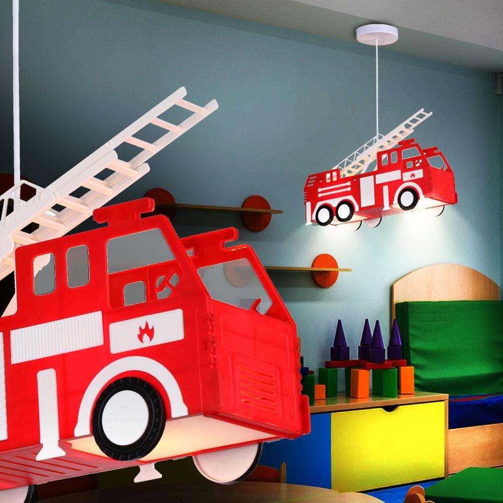 Wandlampe Kinderzimmer Feuerwehr