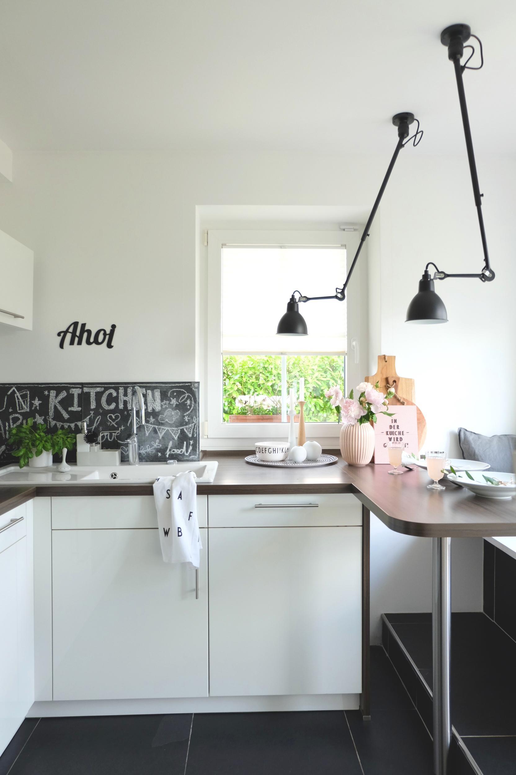 Wandlampe Küche Arbeitsplatte