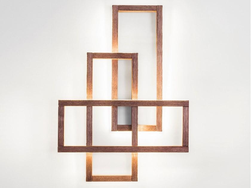 Wandlampe Led Holz