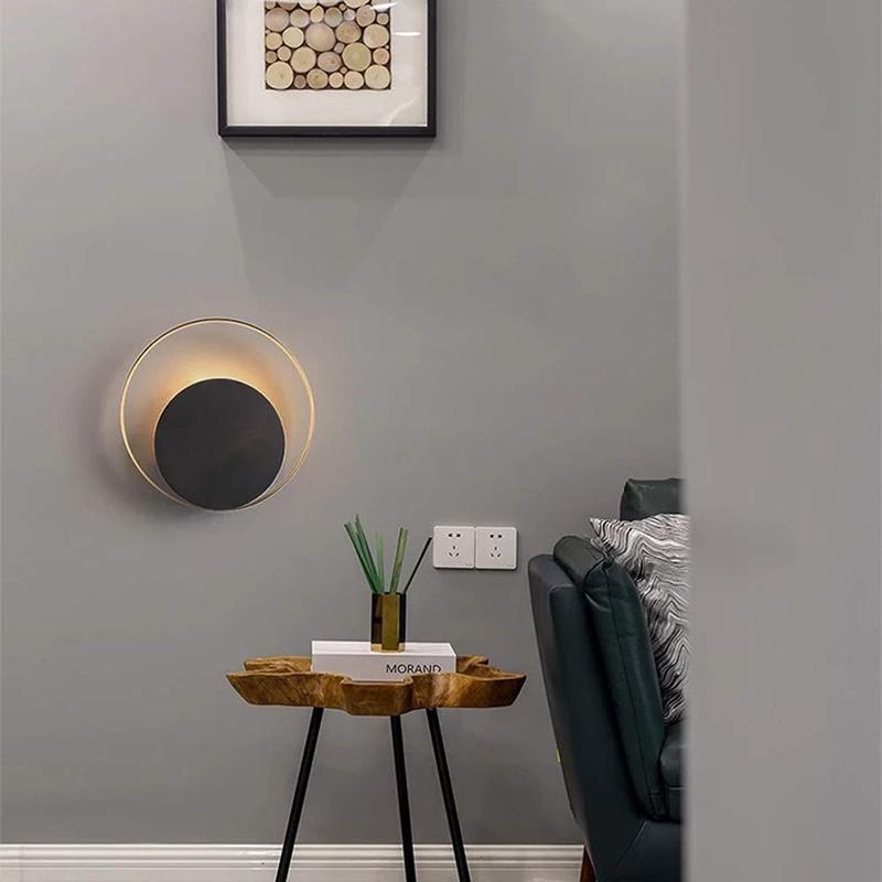 Wandlampe Messing Modern