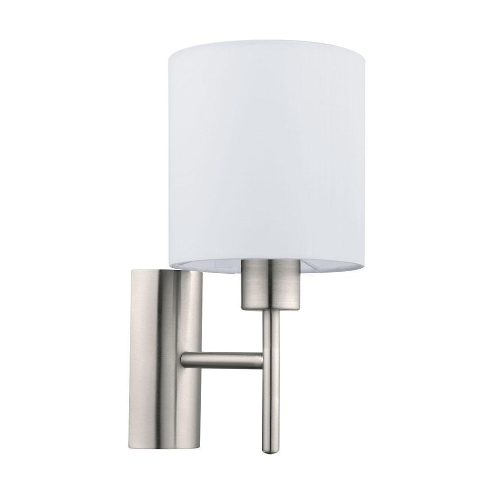 Wandlampe Mit Schalter Weiß