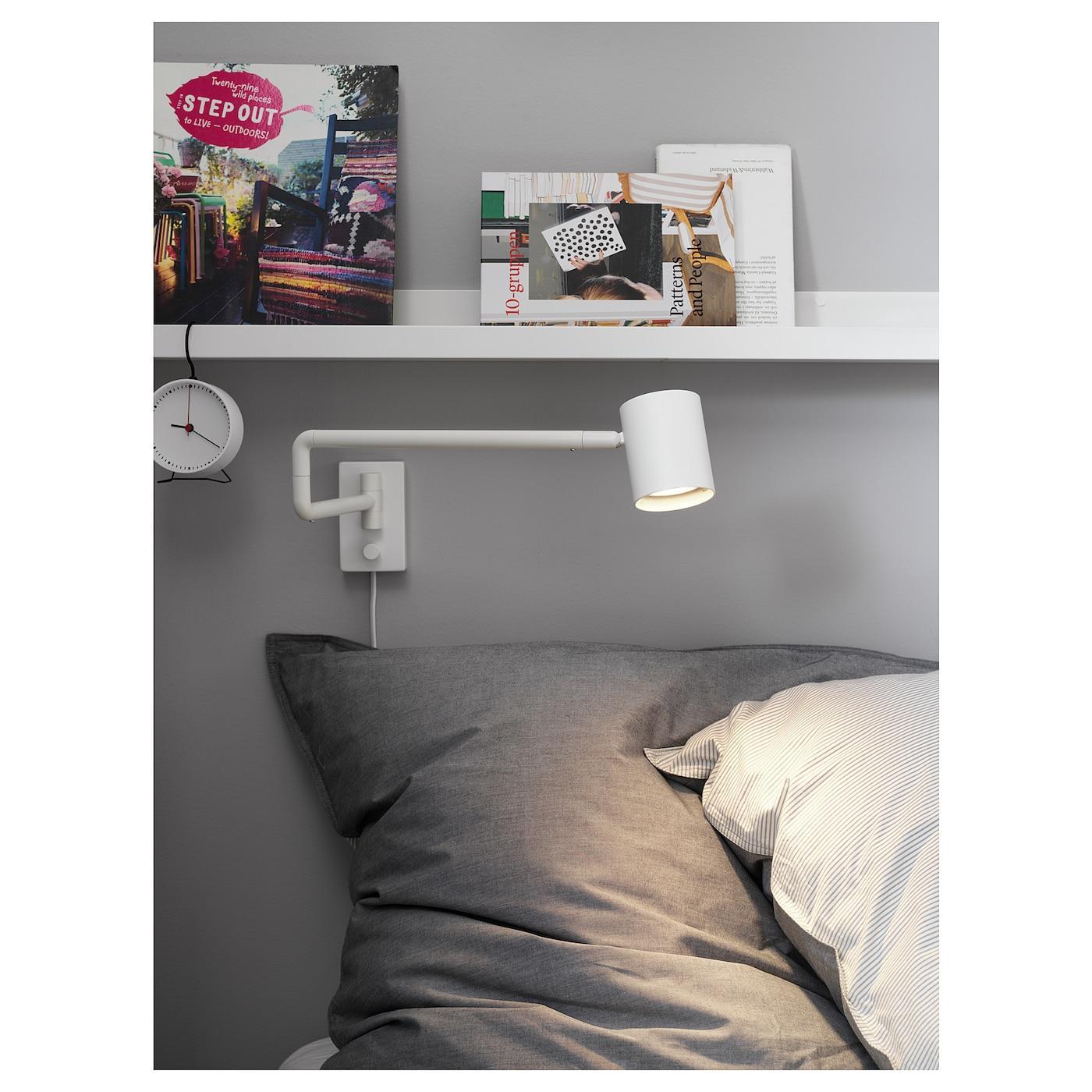 Wandleuchte Schlafzimmer Weiß