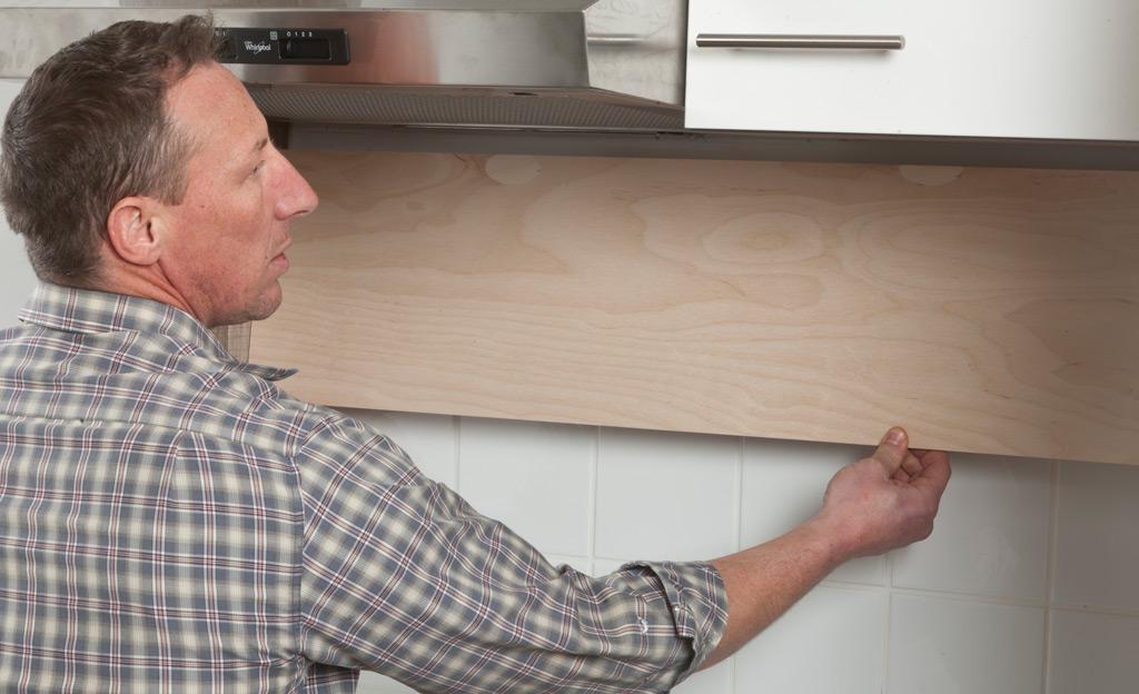 Wandpaneele Küche Holz