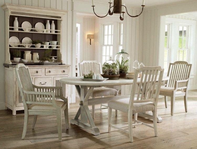 Wandpaneele Küche Landhausstil