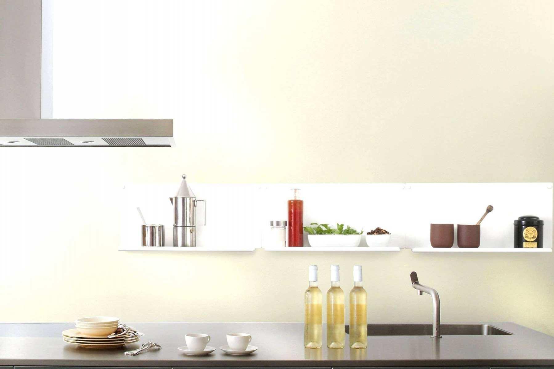 Wandregal Küche Metall