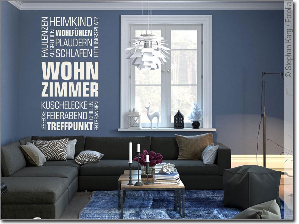 Wandtattoo Wohnzimmer Bild