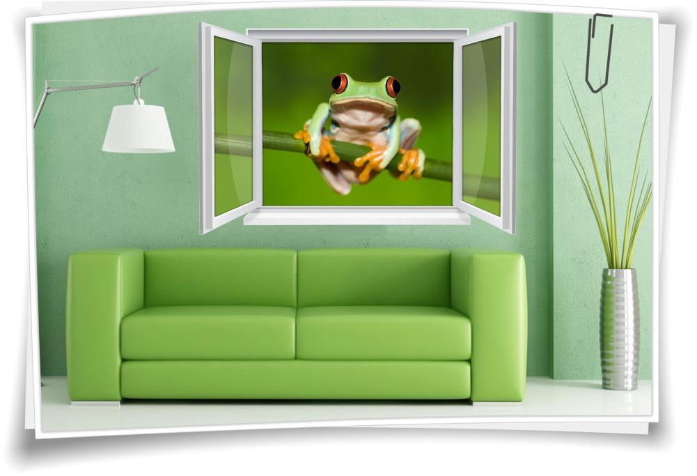 Wandtattoo Wohnzimmer Grün