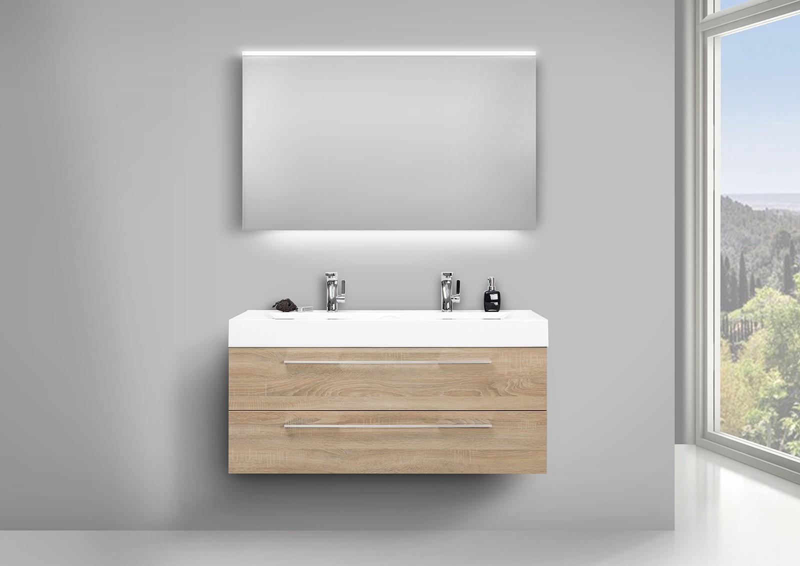 Waschbecken Doppelt Mit Unterschrank