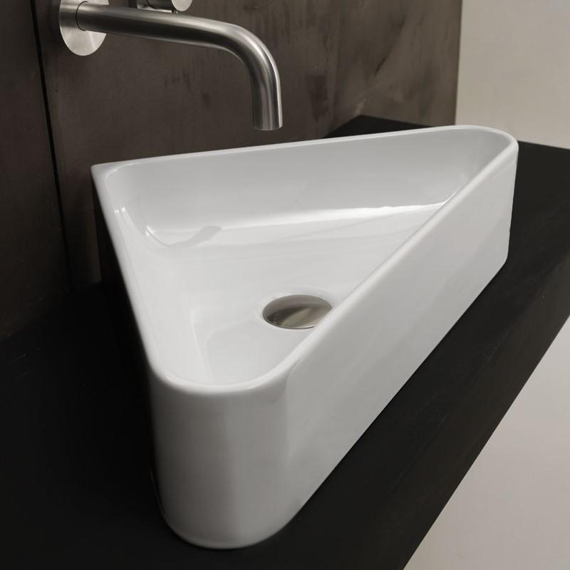 Waschbecken Ecke Bad