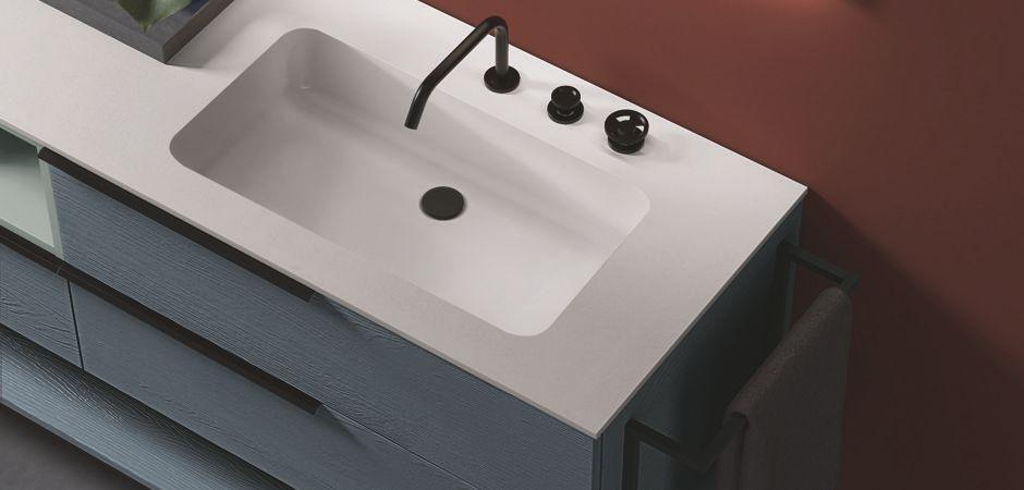 Waschbecken Klein Eckig Mit Unterschrank