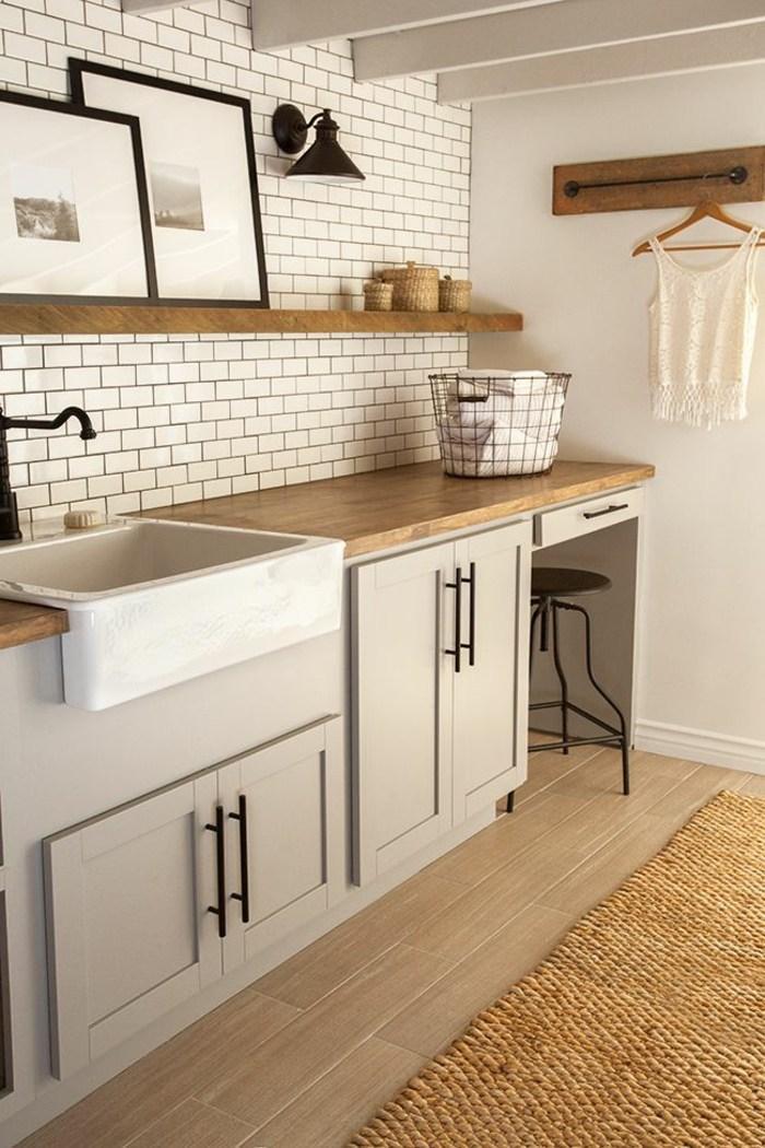 Waschbecken Landhausstil Küche
