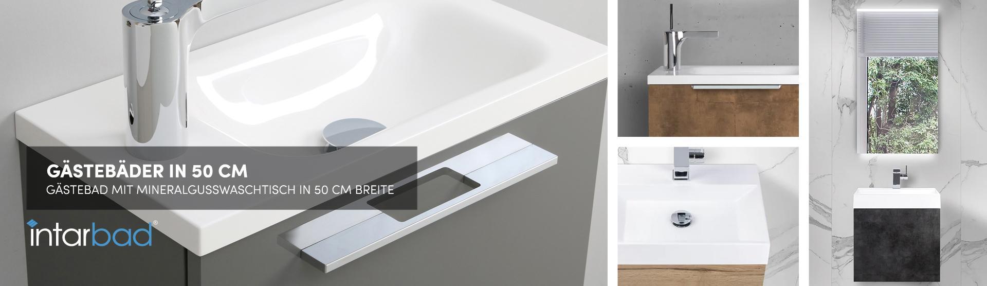 Waschbecken Mit Unterschrank 50 Cm Breit Weiß