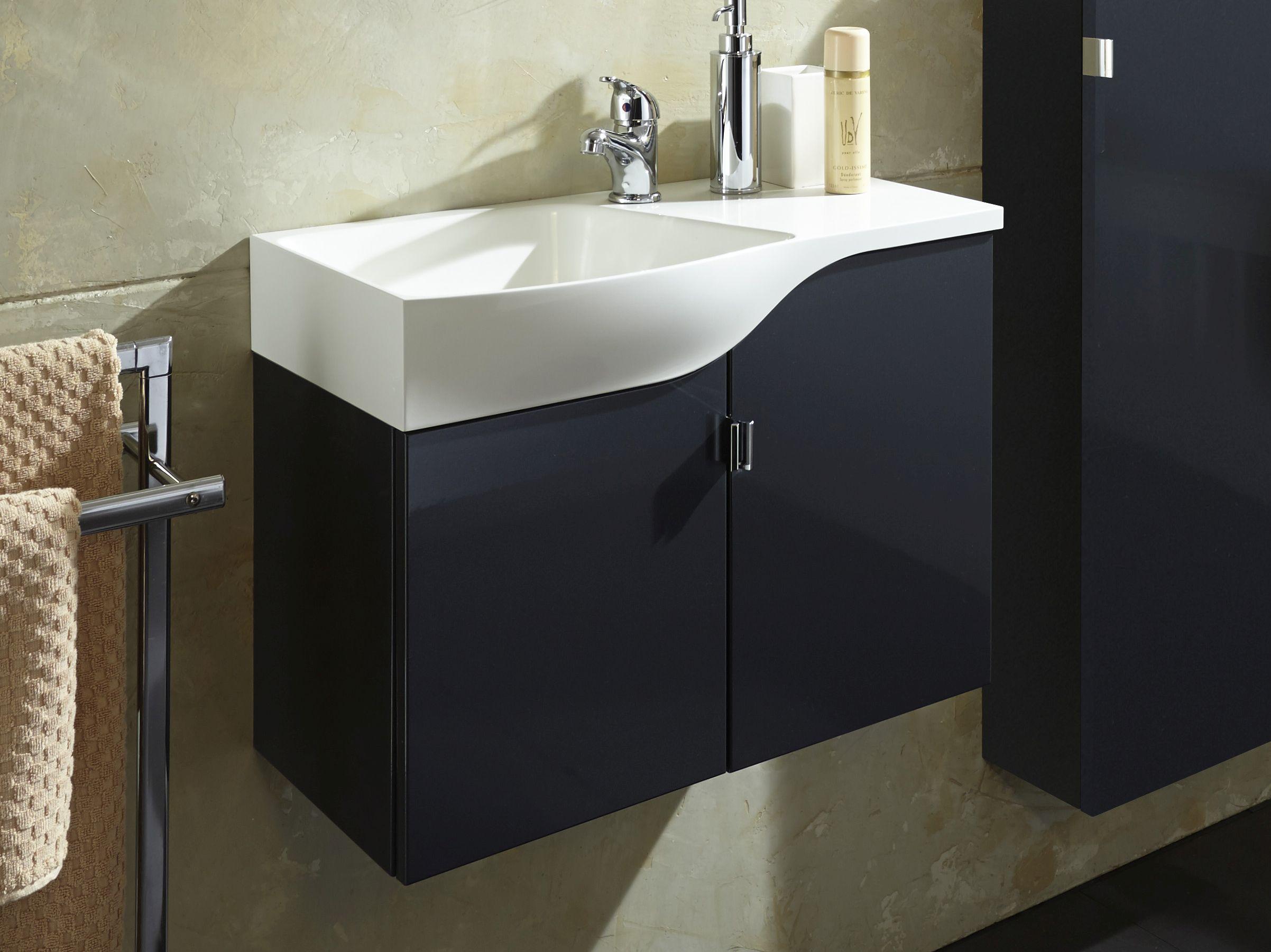 Waschbecken Mit Unterschrank Für Gäste Wc