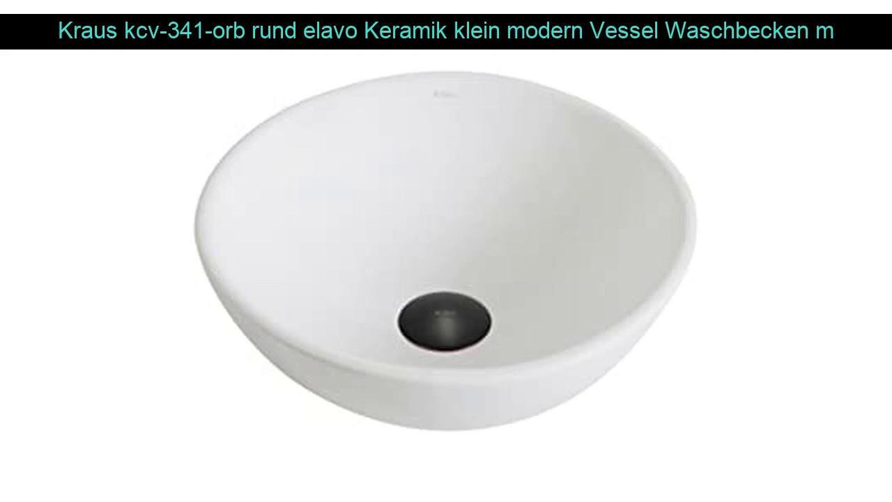 Waschbecken Modern Rund