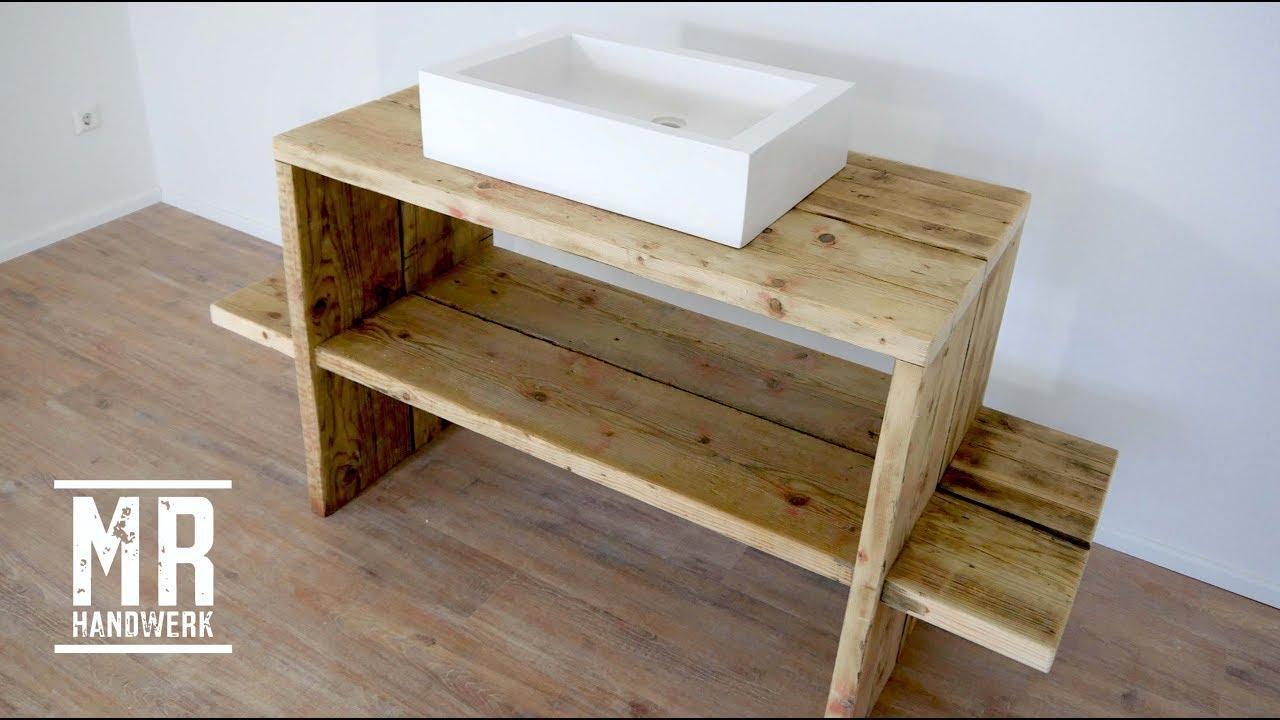 Waschbecken Tisch Holz