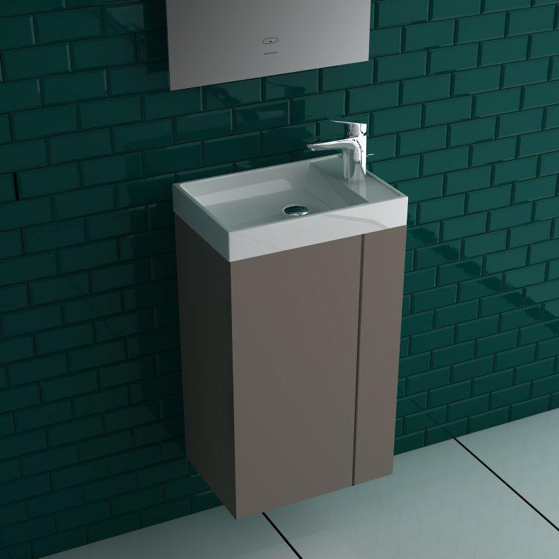 Waschbecken Und Unterschrank Gäste Wc