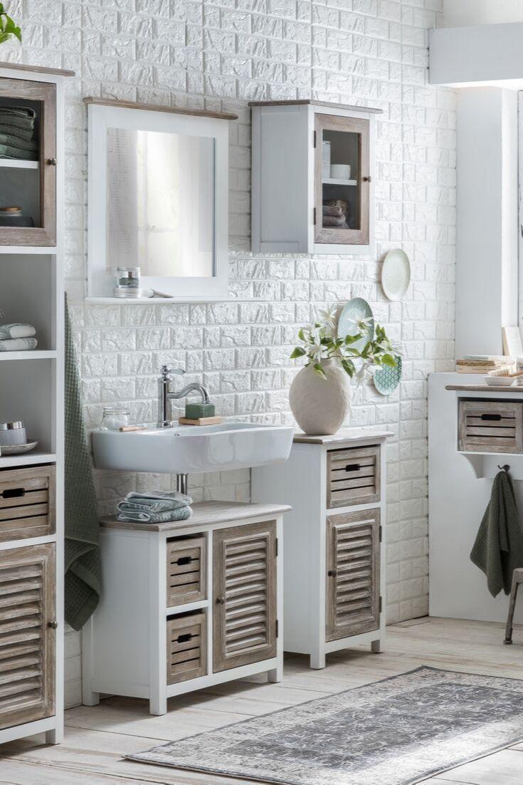 Waschbeckenschrank Mit Waschbecken Stehend