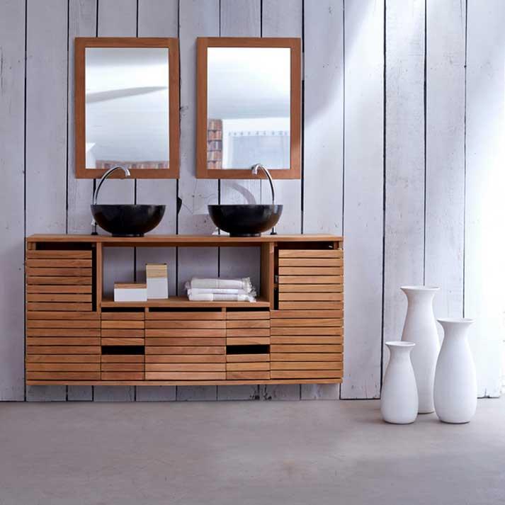 Waschbeckenunterschrank Klein Holz