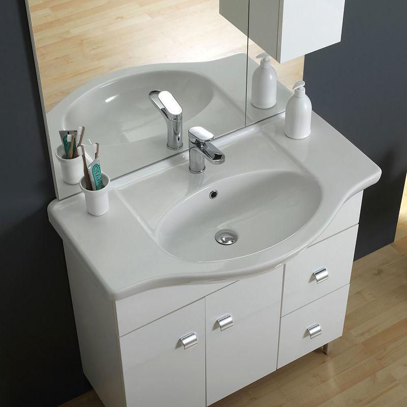 Waschplatz Stehend Mit Spiegel
