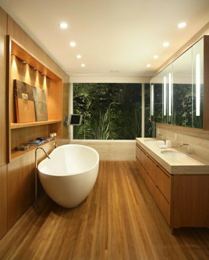 Waschtisch Badezimmer Modern Holz