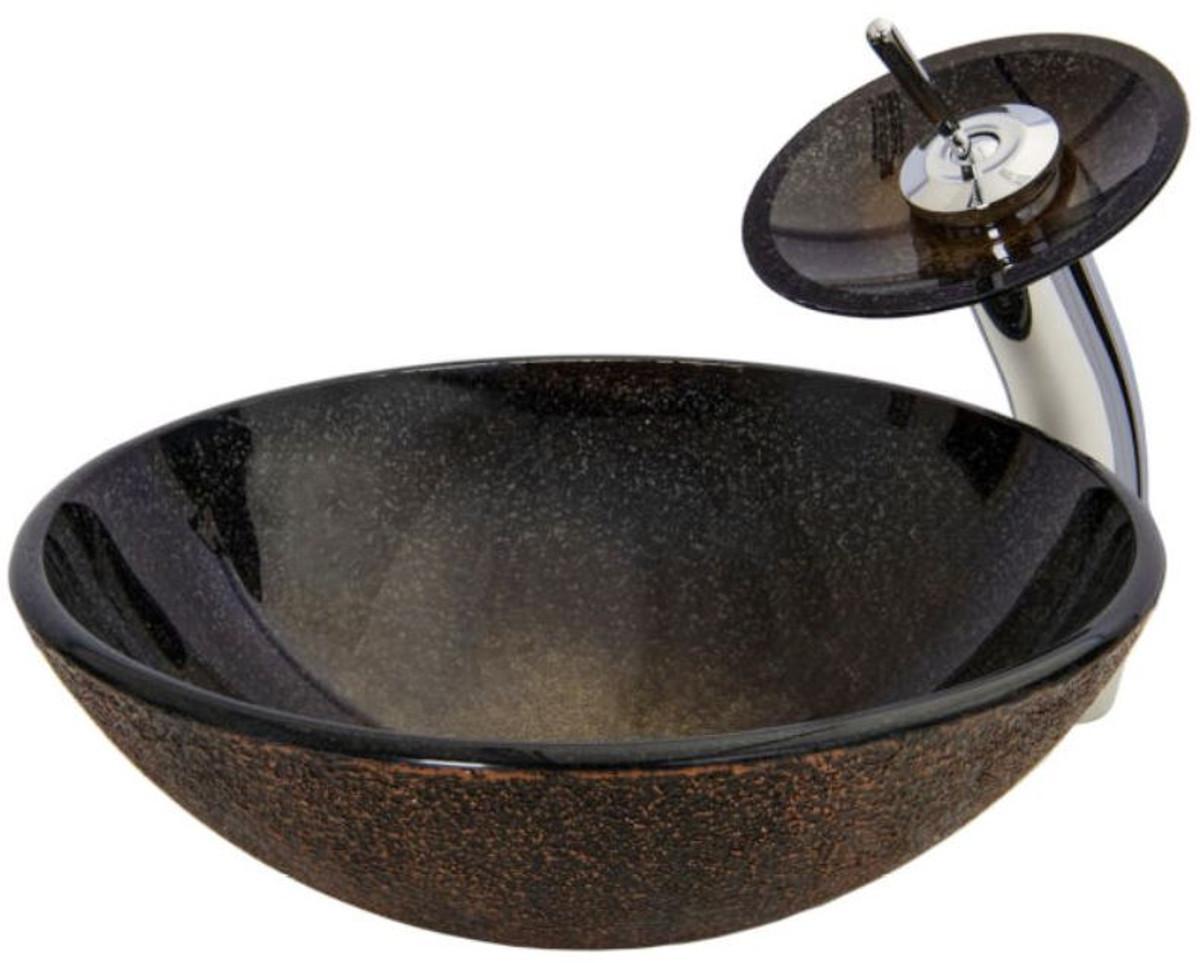 Waschtisch Mit Rundem Waschbecken