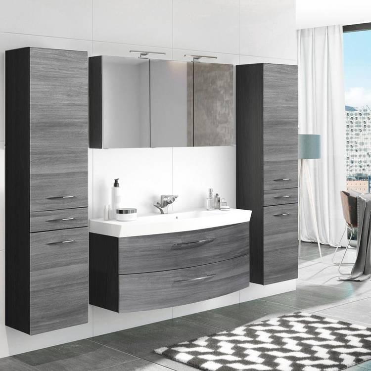 Waschtisch Set Mit Spiegelschrank